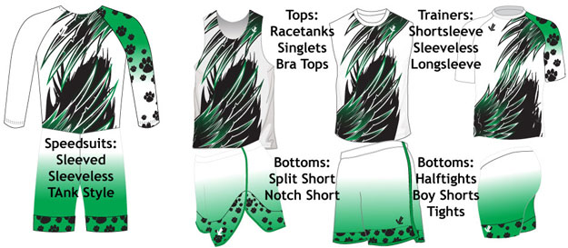 Sublimated Uniform Collection