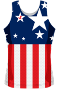 Flag Sublimated Racetank